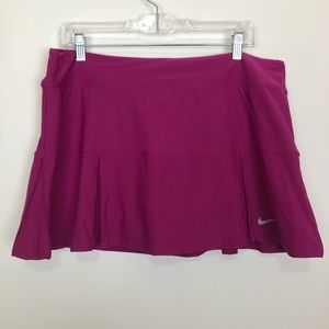 Nike dri fit tennis skirt skort athletic wear Xl